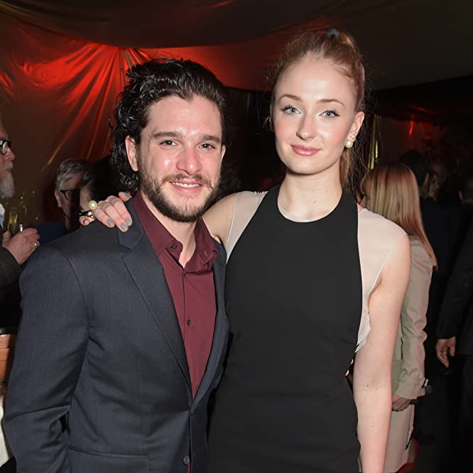 Kit Harington and Sophie Turner at an event for Game of Thrones (2011)