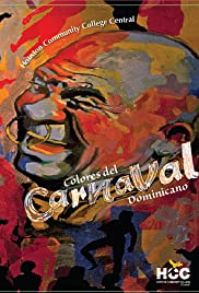 Colors of the Dominican Carnival Poster