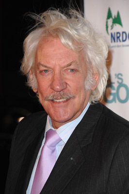 Donald Sutherland at an event for Fool's Gold (2008)