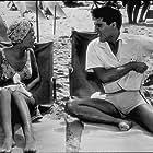"Elvis Presley and Joan Blackman in ""Blue Hawaii,"" Paramount, 1961."