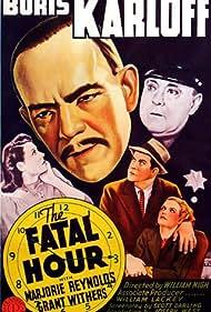 Boris Karloff, Lita Chevret, James C. Morton, Marjorie Reynolds, and Grant Withers in The Fatal Hour (1940)