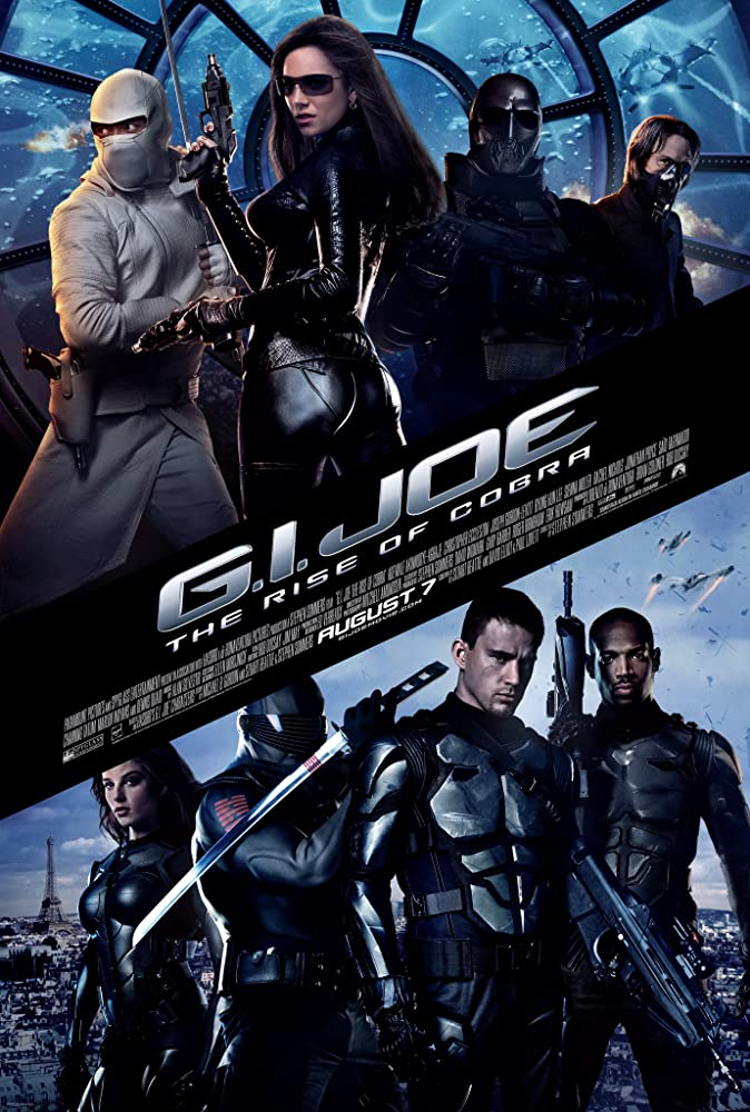 G.I. Joe The Rise of Cobra 2009 Dual Audio Hindi 400MB BluRay ESubs