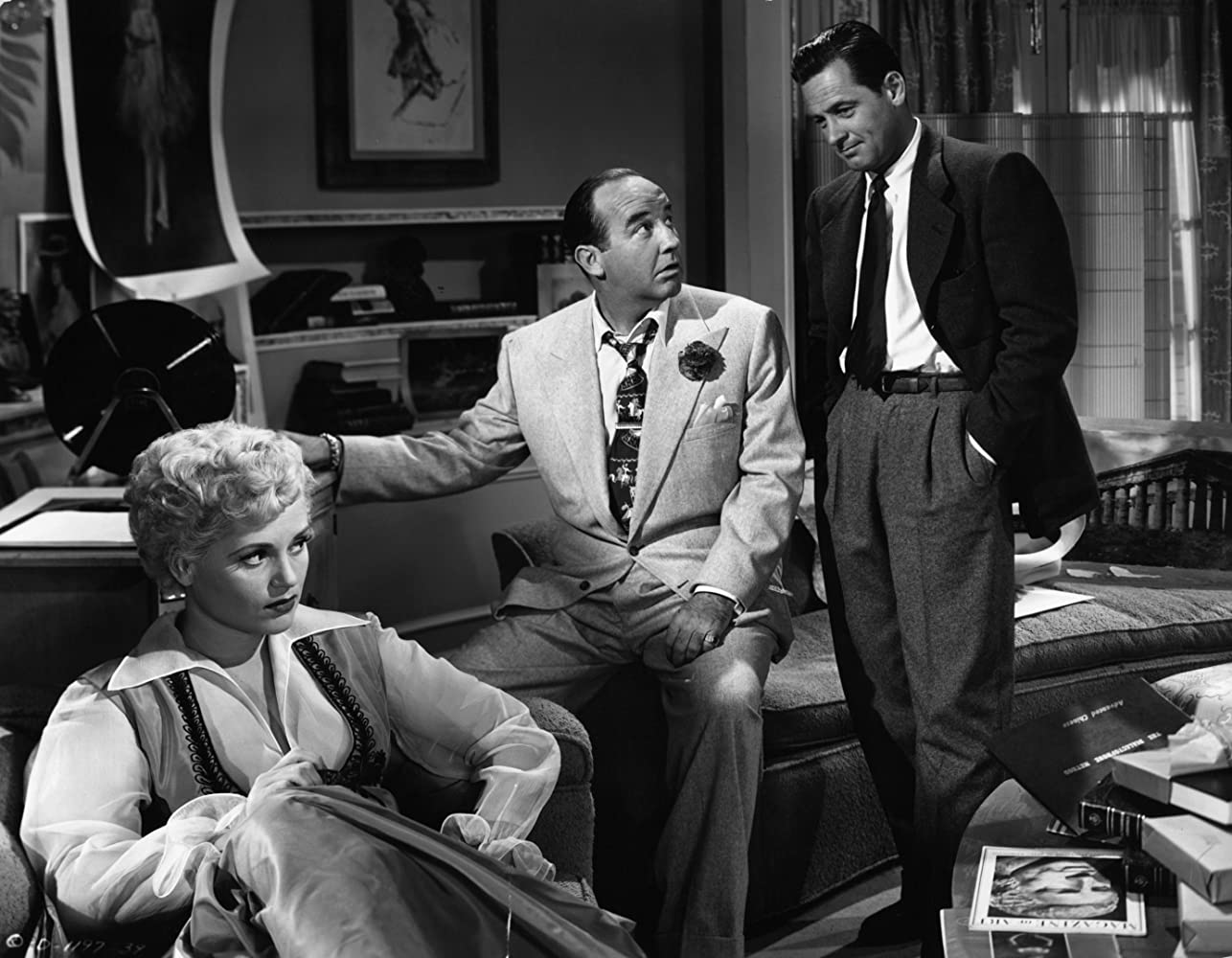 Image result for judy holliday and broderick crawford in born yesterday