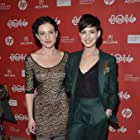 Anne Hathaway and Kate Barker-Froyland at an event for Song One (2014)