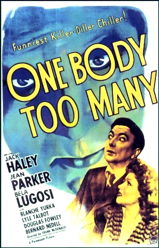 Jack Haley and Jean Parker in One Body Too Many (1944)