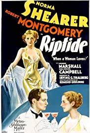 Riptide(1934) Poster - Movie Forum, Cast, Reviews