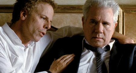 Stevens (Greg Germann) and Dr.Bangley (John Larroquette) in 'Kill Your Darlings'. Dir: Bjorne Larson