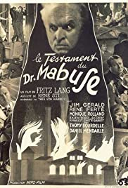 The Testament of Dr. Mabuse (1933) Poster - Movie Forum, Cast, Reviews