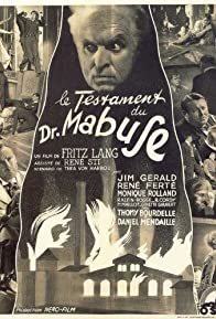 Primary photo for The Testament of Dr. Mabuse