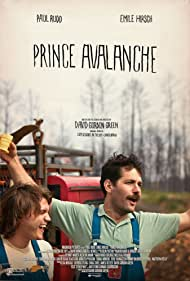 Emile Hirsch and Paul Rudd in Prince Avalanche (2013)