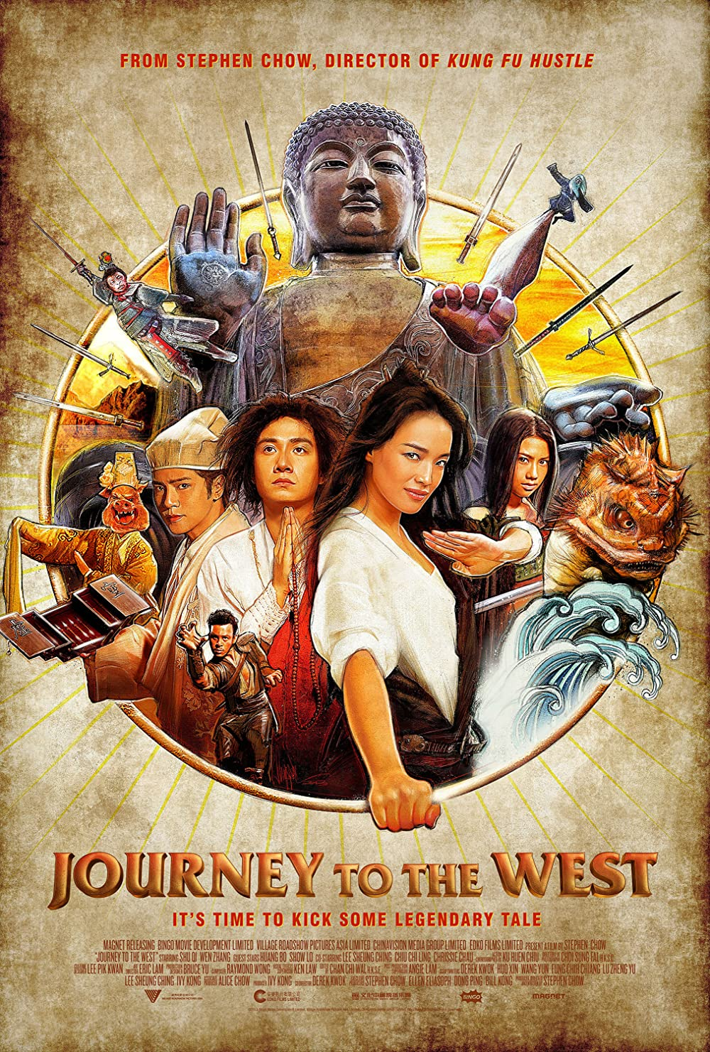 Download Journey to the West Conquering the Demons 2013 Hindi ORG Dual Audio 480p BluRay ESub 400MB