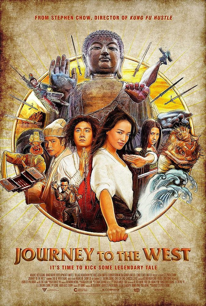 Qi Shu, Xing Yu, Chrissie Chau, Zhang Wen, and Show Lo in Xi you: Xiang mo pian (2013)