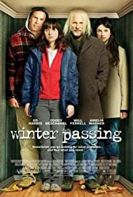 Ed Harris, Will Ferrell, Zooey Deschanel, and Amelia Warner in Winter Passing (2005)