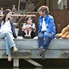 Jessica Biel, Gerard Butler, and Noah Lomax in Playing for Keeps (2012)