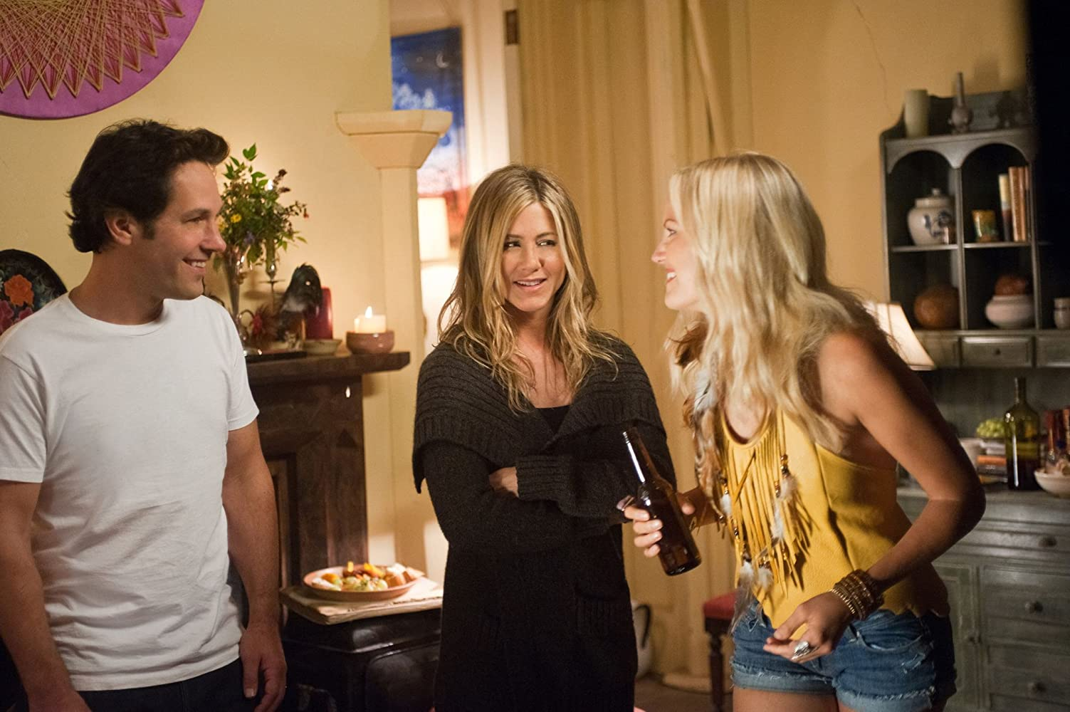 Jennifer Aniston, Malin Akerman, and Paul Rudd in Wanderlust (2012)