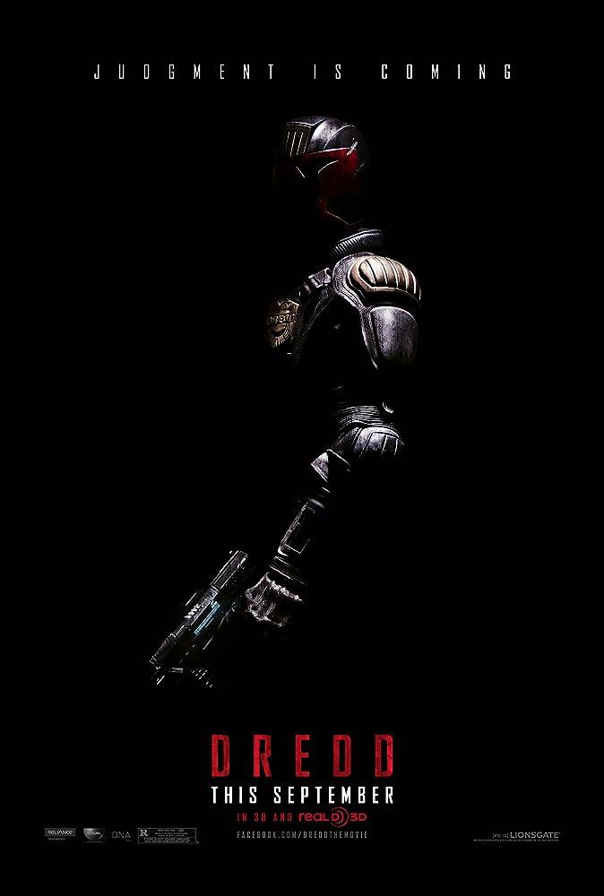 Poster film Dredd