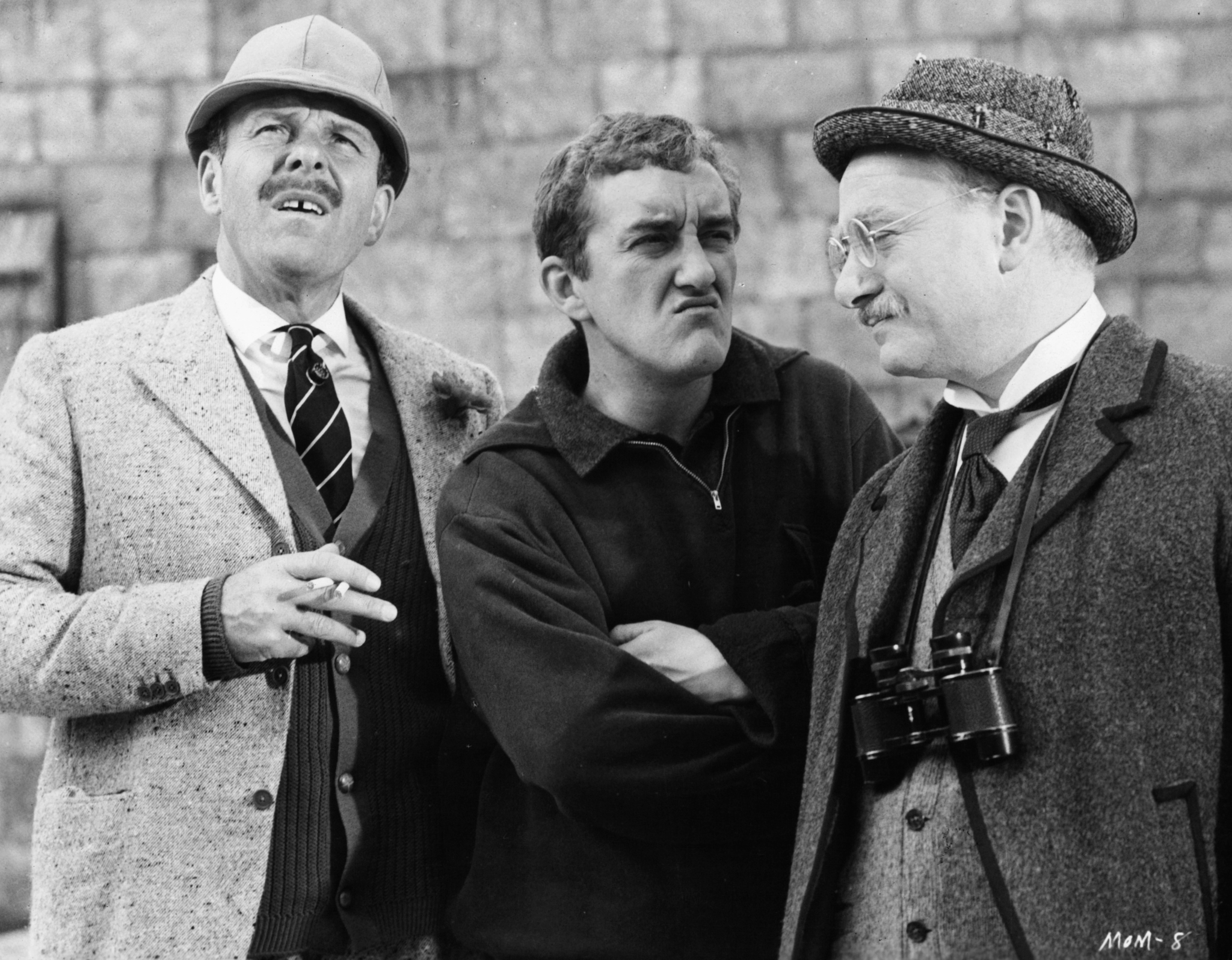 Bernard Cribbins, David Kossoff, and Terry-Thomas at an event for The Mouse on the Moon (1963)