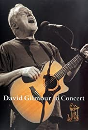 David Gilmour in Concert Poster