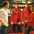 Richard Coyle, Jack Davenport, Kate Isitt, and Ben Miles in Coupling (2000)