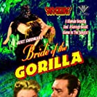 Lon Chaney Jr. and Barbara Payton in Bride of the Gorilla (1951)