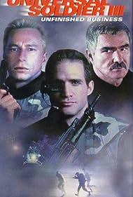 Burt Reynolds, Matt Battaglia, and Jeff Wincott in Universal Soldier III: Unfinished Business (1998)
