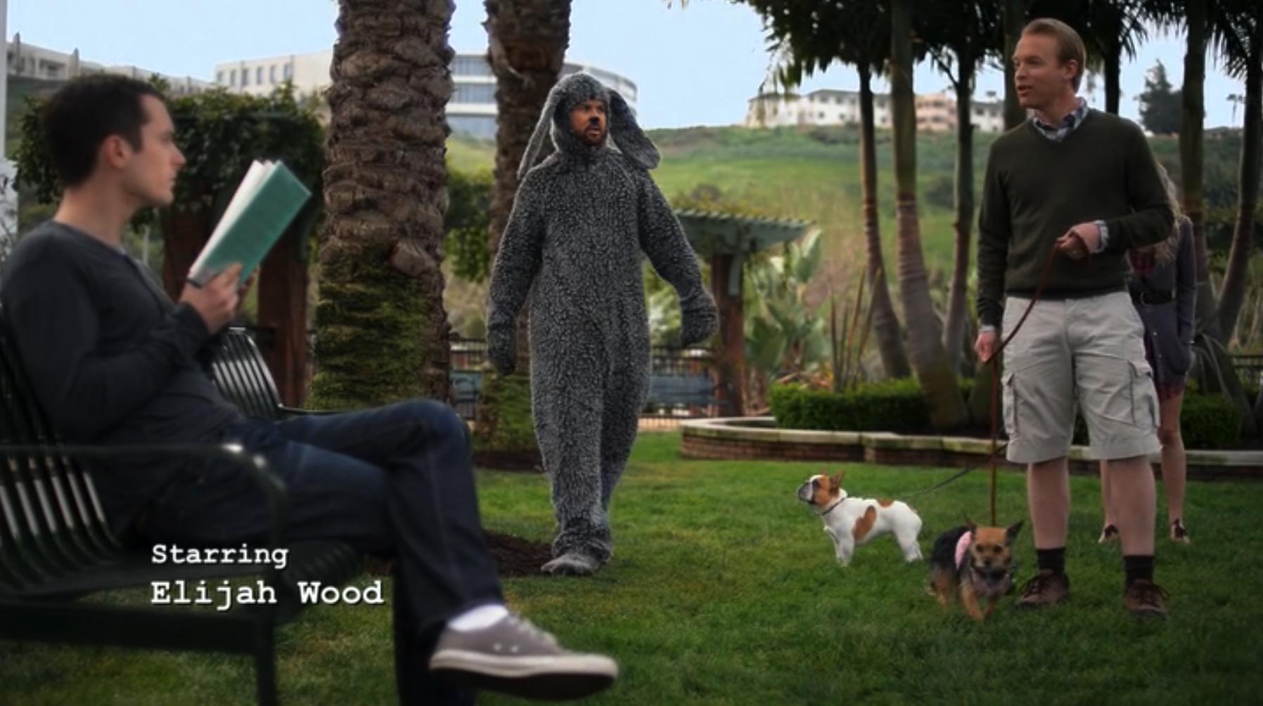"Wilfred, Season 3, Episode 4 ""Sincerity"", with Elijah Wood and Jason Gann"