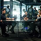 Lili Taylor, Michael Irby, Karl Urban, Michael Ealy, and Minka Kelly in Almost Human (2013)
