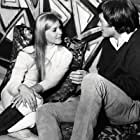 Peter Fonda and Salli Sachse in The Trip (1967)