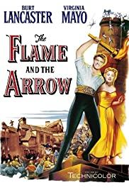 The Flame and the Arrow Poster