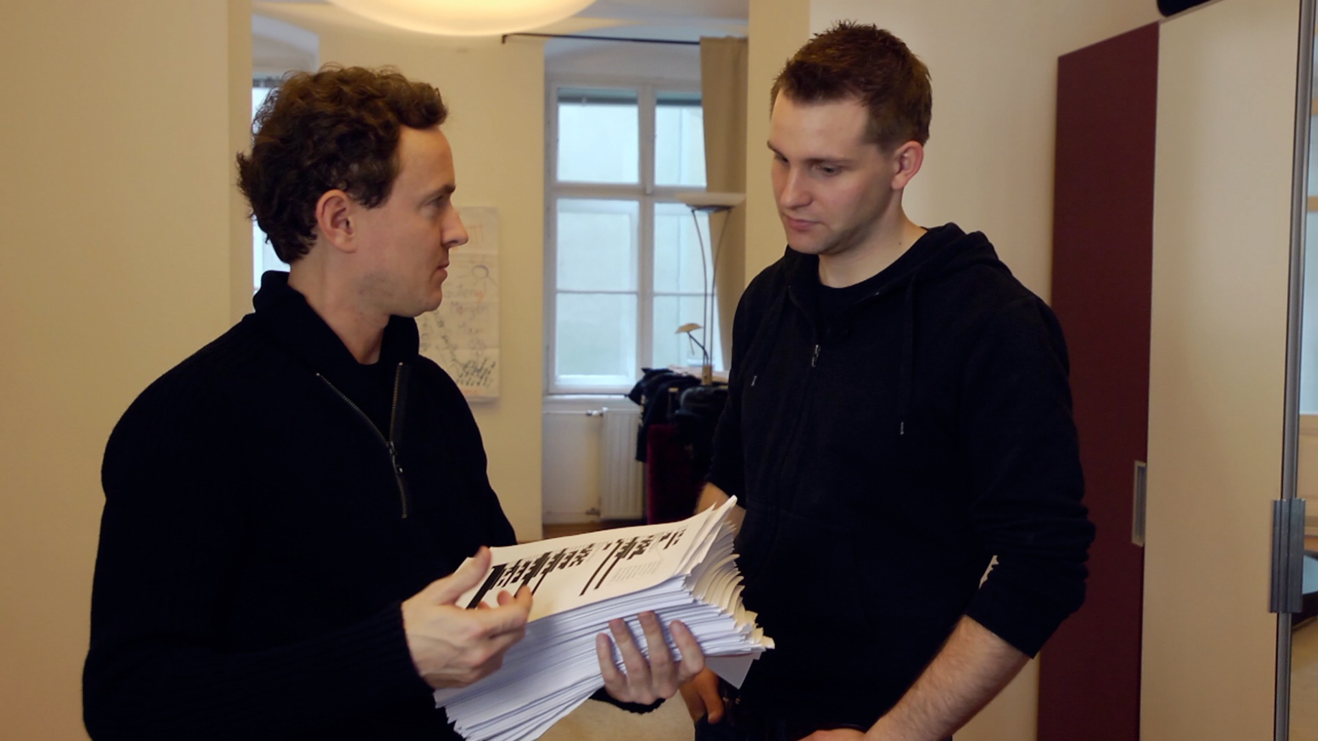 Cullen Hoback and Max Schrems in Terms and Conditions May Apply (2013)