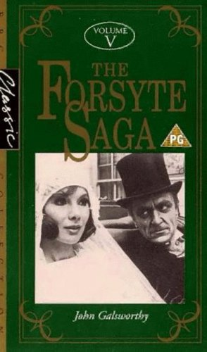 Susan Hampshire and Eric Porter in The Forsyte Saga (1967)