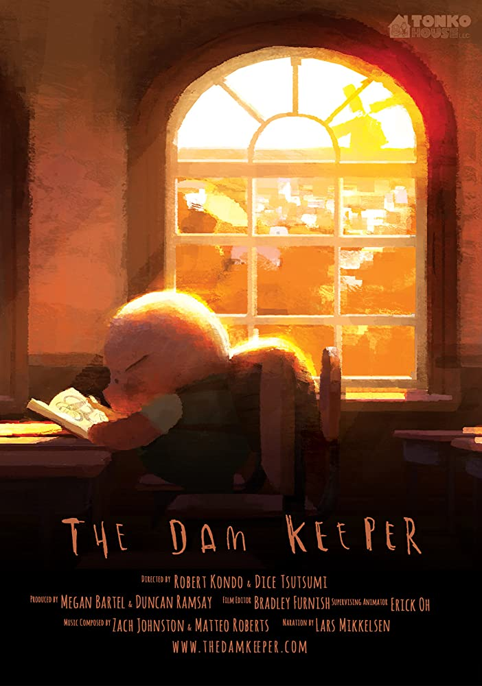 Poster film The Dam Keeper (2014).
