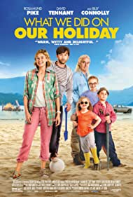 Billy Connolly, Rosamund Pike, David Tennant, Bobby Smalldridge, Emilia Jones, and Harriet Turnbull in What We Did on Our Holiday (2014)