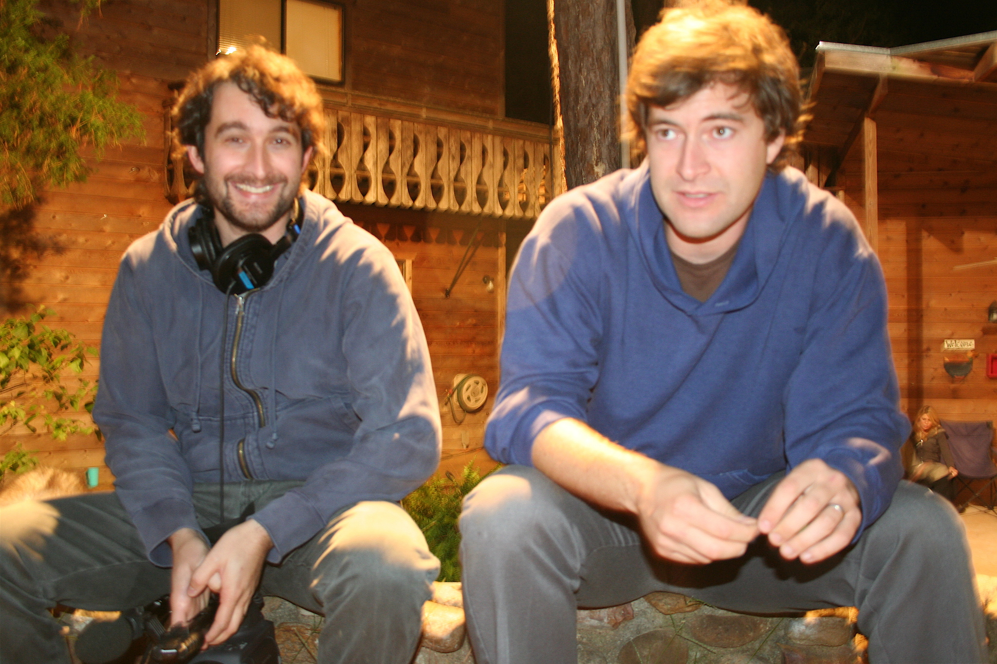 Jay Duplass and Mark Duplass in Baghead (2008)