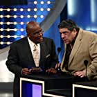 Vincent Pastore and Al Roker in Celebrity Family Feud (2008)