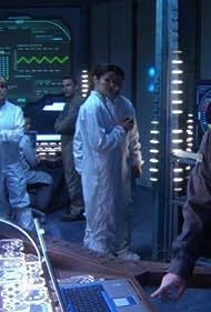 David Hewlett and David Nykl in Stargate: Atlantis (2004)