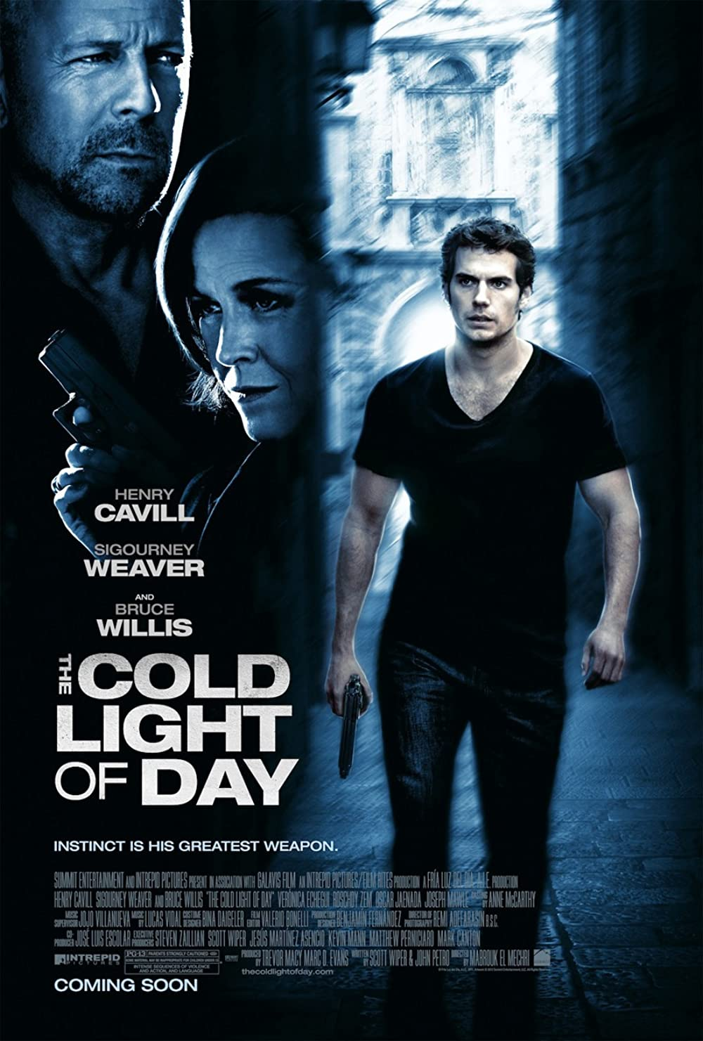 The Cold Light of Day 2012 Hindi Dual Audio 720p BluRay ESub 700MB x264 AAC