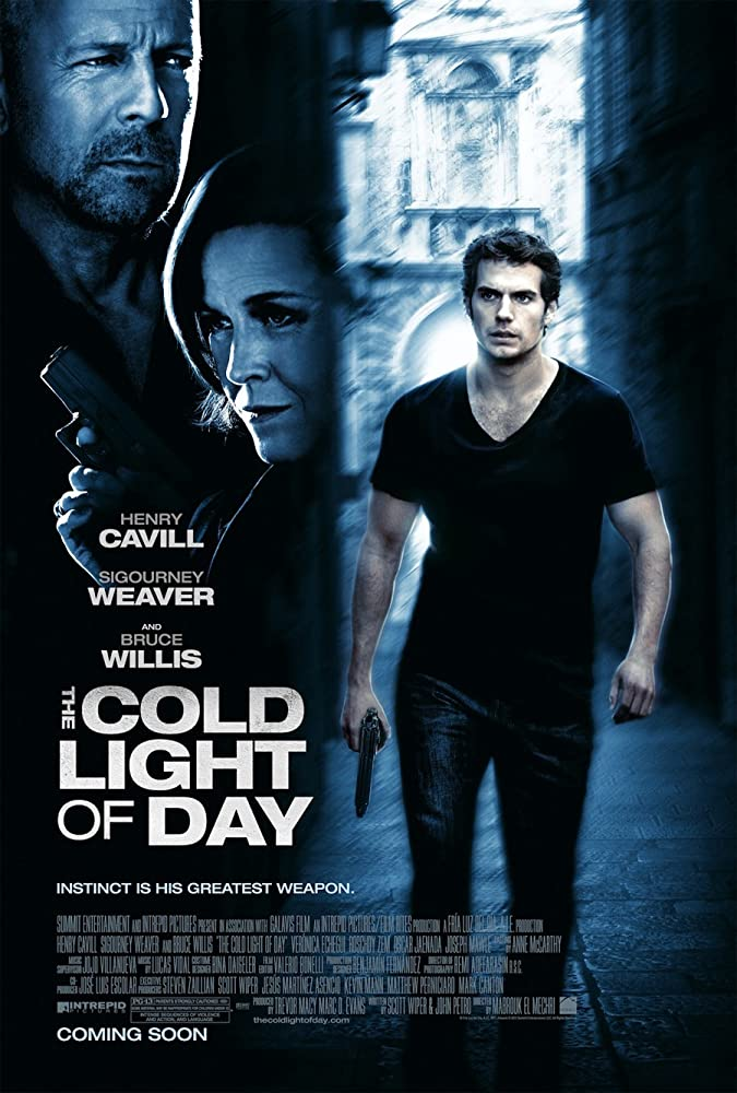 Poster film The Cold Light of Day (2012)