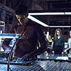 Danielle Panabaker, Grant Gustin, and Emily Bett Rickards in Arrow (2012)