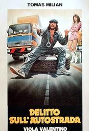 Delitto sull'autostrada Poster