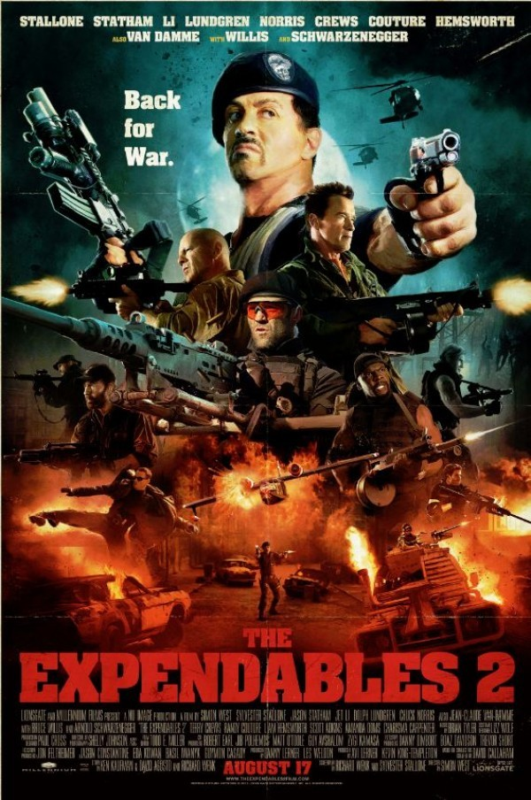 Poster film The Expendables 2.