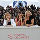 Anne Louise Hassing, Alexandra Rapaport, and Susse Wold at an event for Jagten (2012)
