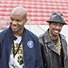 Nick Cannon and Leonard Roberts in Drumline: A New Beat (2014)