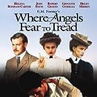 Helena Bonham Carter, Helen Mirren, Judy Davis, Rupert Graves, and Giovanni Guidelli in Where Angels Fear to Tread (1991)