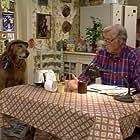 George Gaynes and Sandy in Punky Brewster (1984)