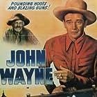 John Wayne and George 'Gabby' Hayes in Randy Rides Alone (1934)