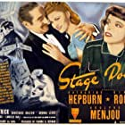 Katharine Hepburn, Ginger Rogers, and Adolphe Menjou in Stage Door (1937)