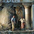 Stellan Skarsgård and Andrew French in Exorcist: The Beginning (2004)