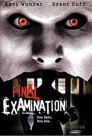 Final Examination(2003) Poster - Movie Forum, Cast, Reviews