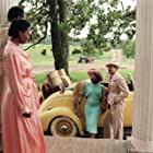 Whoopi Goldberg, Danny Glover, Margaret Avery, and Bennet Guillory in The Color Purple (1985)